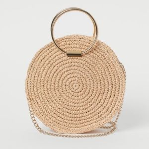 Brand new straw bag H&M